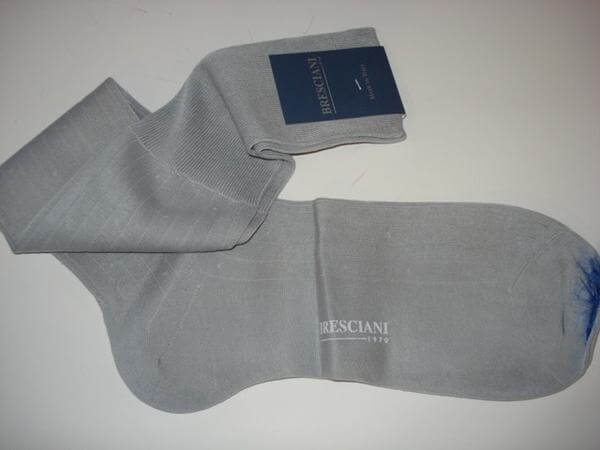 Bresciani – Grey Sock