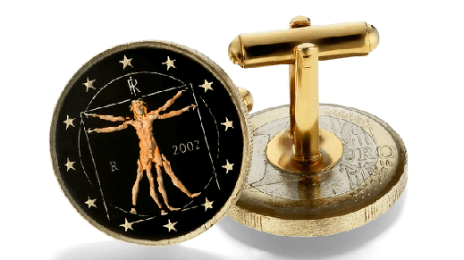 Everard's-Cufflinks-Coins-Da-Vinci