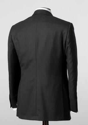 Hickey Freeman Suit Charcoal Gray Tasmanian 3