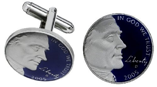 usa nickel blue
