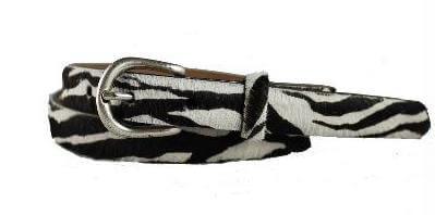 78HC pony zebra thin blk-wht