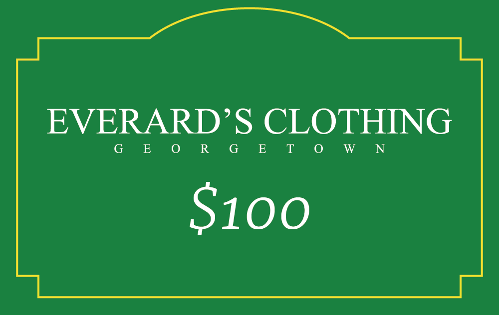 Everard's Clothing Gift Card [100] [front]