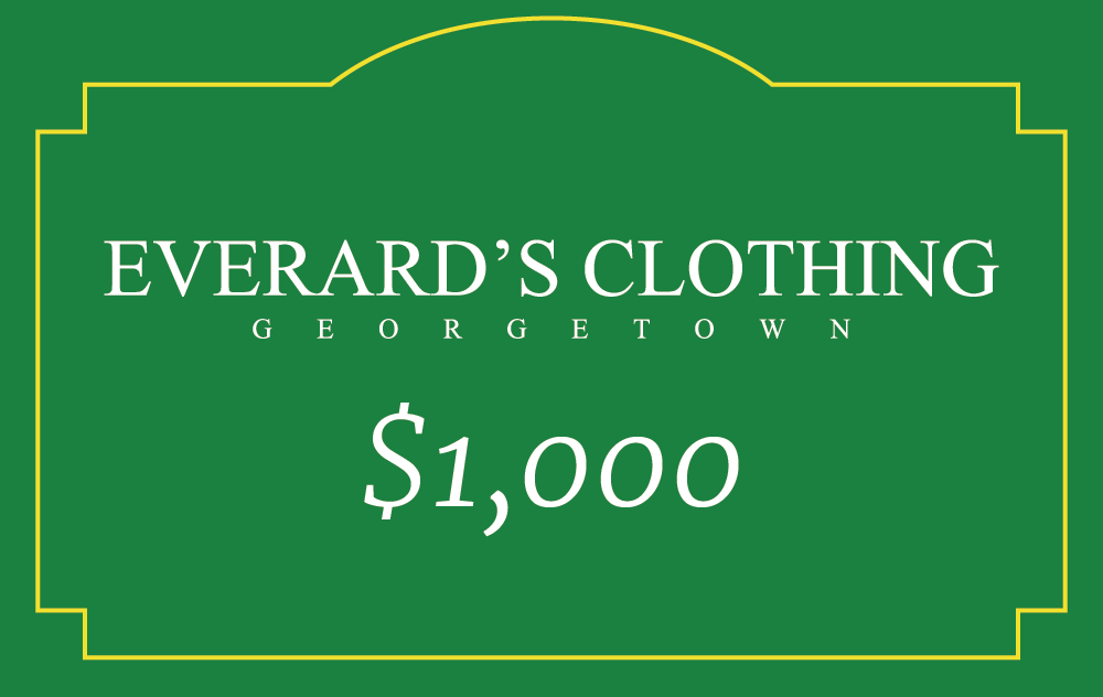 Everard's Clothing Gift Card [1000] [front]