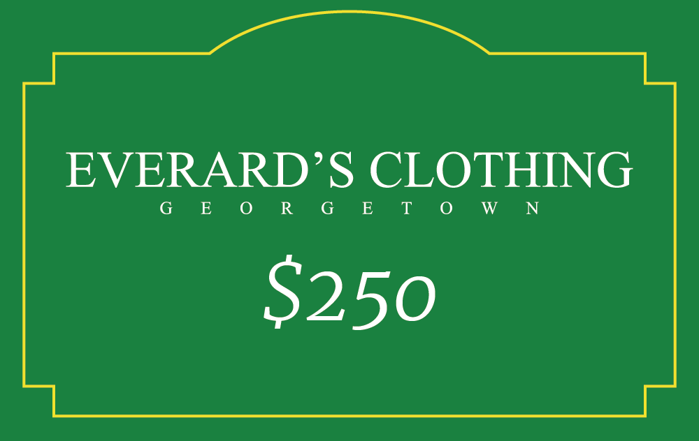 Everard's Clothing Gift Card [250] [front]